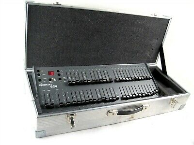 Leprecon 624 24 Channel Console Theater Stage Light Panel Board Controller+Case