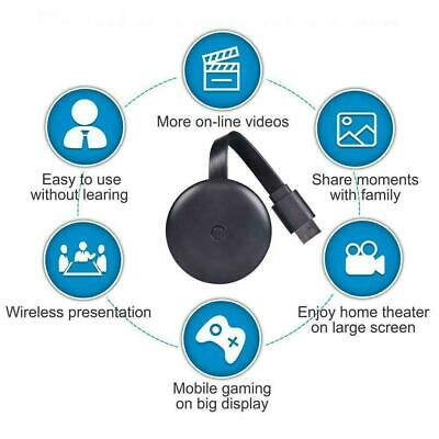 TV Buddy Caster Clone 2.4G/ 5G 4K Wireless Wifi Mirroring HDMI Cable