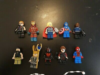 Lego marvel super heroes Mini Figures lot 1