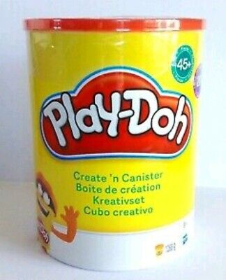 Play-Doh Create N Canister Large Set 20x Playdoh Tubs 45x Accessories NEW SEALED