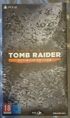 Shadow Of The Tomb Raider - Ultimate Collector's Edition - PS4 - New And Sealed
