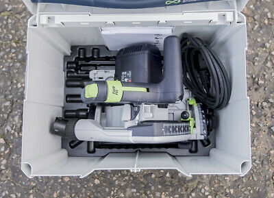 Festool TS 55 REBQ Plunge Saw, 240V, in Systainer