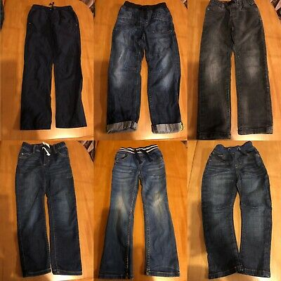 Boys Jeans And Trousers Bundle Age 5-6 , 6-7 And 7-8