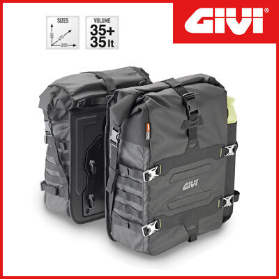 PAIRE SACOCHES LATÉRALES [ Givi ] GRT709 CanyonCouchette 35
