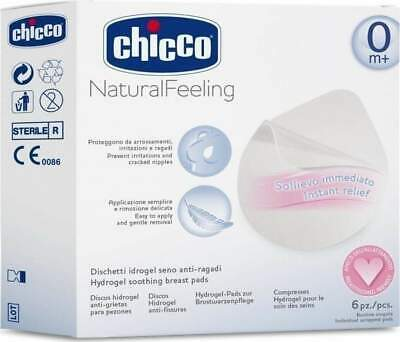 Chicco Hydrogel Soothing Breast Pads