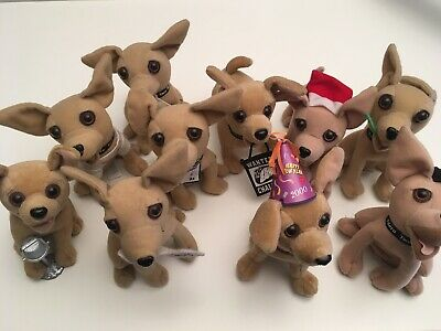 Old LOT 10 TACO BELL Chihuahua   Animals Dogs (Read Description)
