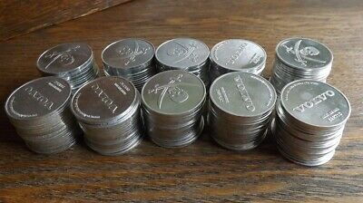 LOT of 200 Volvo Disney Treasure Hunt Pirate Booty Coins From 2006 Contest
