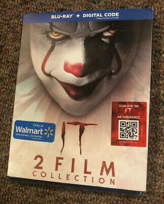 Stephen King's IT Chapter One & Two EXCLUSIVE BLU-RAY 2-Film Collection     0109