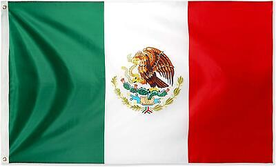 Large Mexico Mexican Flag Heavy Duty Outdoor MX 90x150cm - 3x5ft