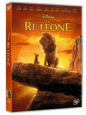 DVD NUOVO DISNEY film/cartoon il Re Leone Live film Action vers italiana novità