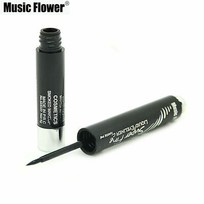 EYELINER PINCEAU FIN PRECISION TENUE 24 hrs NOIR WATERPROOF MUSIC FLOWER