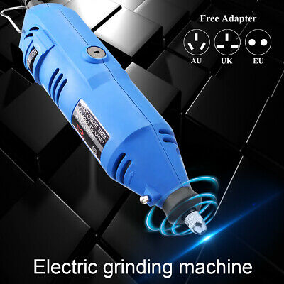 6 Speed Electric Rotary Tool Grinder Drill Engraving Grinding Polisher Machine