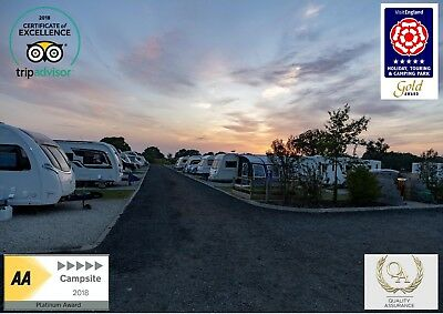 Touring Caravan Pitch Gift Voucher 2 night stay 2020