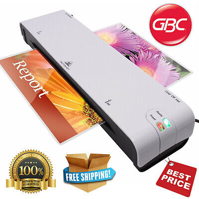 GBC A4 Laminator Laminating Machine For Office Business Home SafeGuard White NEW