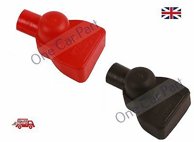 Universal Car Battery Clamp Terminal Insulation Mid Cover Positive & Negative