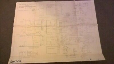 Building The Allchin  Complete Set Of All 18 Full Size Technical Drawings Also..