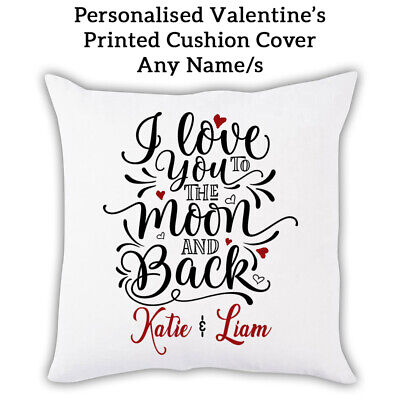 Rabbit Cushion Cover Personalised Mothers Valentines Pillow Gift Love Her KC14