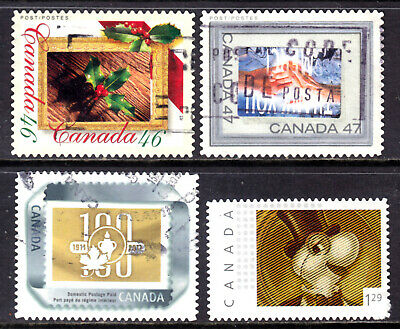 CANADA PICTURE POSTAGE #1872,1882a,2063 + $1.29, 2000-2004 LOT/4, VF, USED