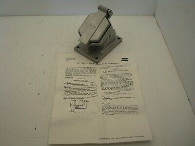 Crouse-Hinds Enr 5151 Explosion Proof Receptacle 15A 125 Vac Nnb
