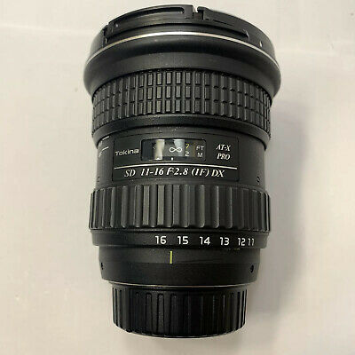 Tokina AT-X Pro 11-16mm F/2.8 DX Wide Angle Lens For Nikon