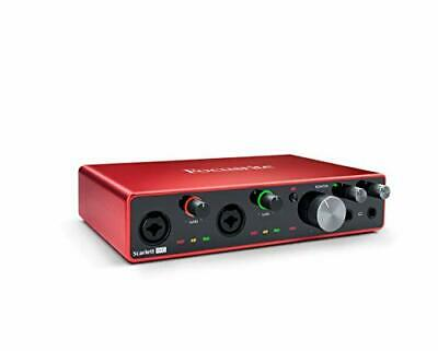 Focusrite Scarlett 8i6 (3rd Gen) USB Audio Interface with Pro Tools | First