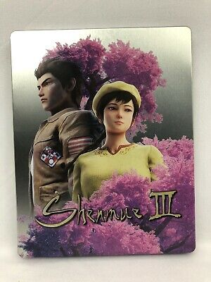 Shenmue 3 - Steelbook (NO GAME) - PlayStation 4 / PS4 (New)