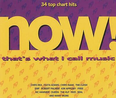 Various Artists - Now That's What I Call Music! 19 - U.K. CD album 1991