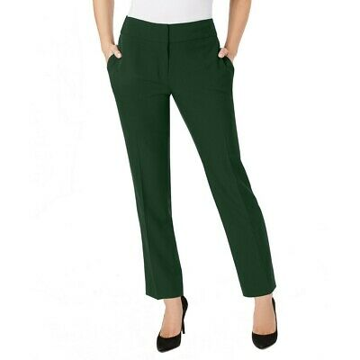 KASPER NEW Women's Solid Crepe Dress Pants TEDO