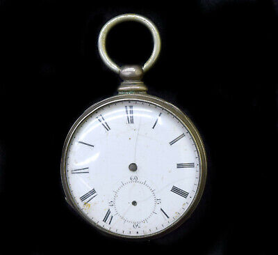 T F Copper London Pocket Watch, for Parts/Repairs, No Key