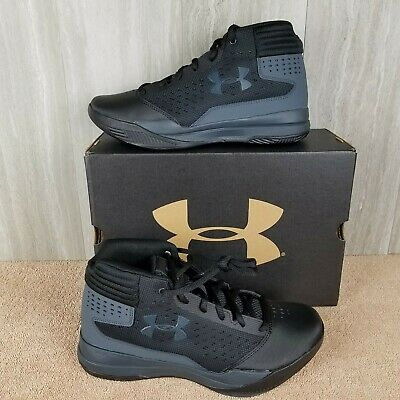 Under Armour Kids Youth Grade School Jet 2017 Shoe Sneaker Black Size 5.5Y NEW