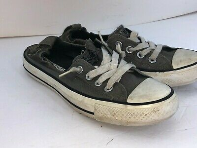 Converse All Stars Women's Shoes Size 7 Green In Great Condition