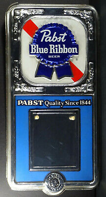 """1978 Pabst Blue Ribbon Beer Quality Since 1844 18""""t Plastic Calendar Wall Sign"""