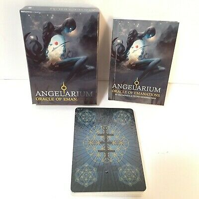 Angelarium Oracle Of Emanations Cards Deck Esoteric Telling Lo Scarabeo New