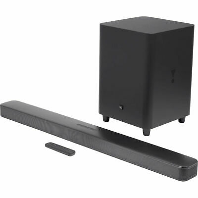 "JBL Bar 5.1 Soundbar with Built-in Virtual Surround, 4K and 10"" Wireless"