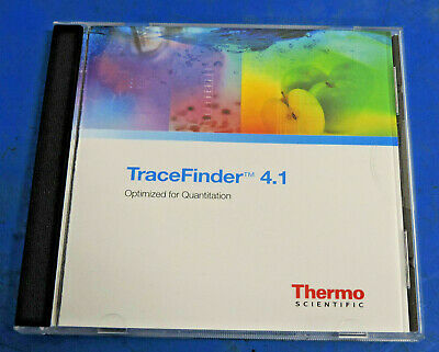 Thermo Fisher TraceFinder 4.1 Optimized Software for Quanlitation XCALI-64841