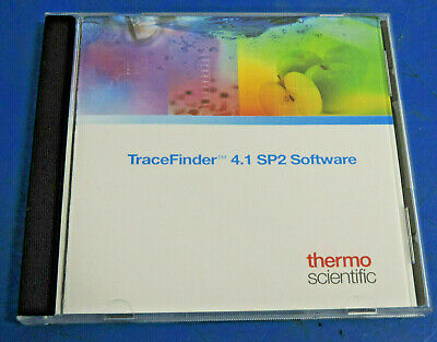 Thermo Fisher TraceFinder 4.1 SP2 Optimized Software for Quanlitation