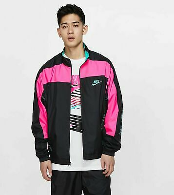 Nike X Atmos Vintage Patchwork Jacket Men's Size S-XXL New with Tags CD6132 011