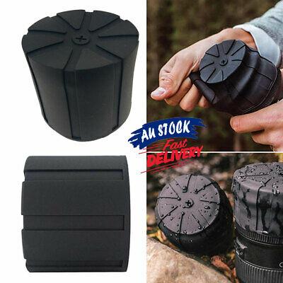 Lens Cover Silicone Fallproof Universal Anti-Dust Cap Camera Protector DSLR