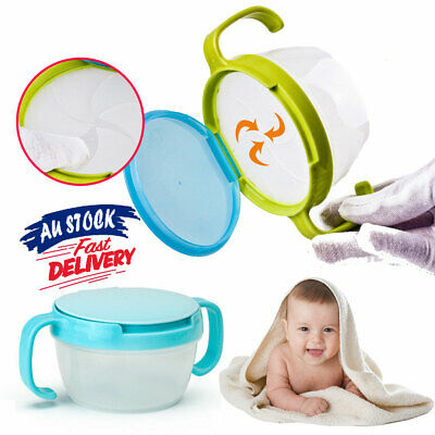 Bowl Container Spill Baby Portable Toddler Snacks Cup No Snacker Snack