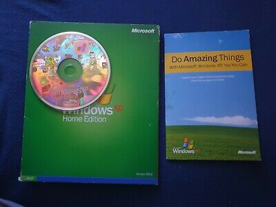 Microsoft Windows Xp Home Edition Upgrade Edition Retail  With Product Key