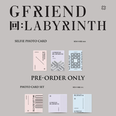 Gfriend - 回:Labyrinth Selfie Photo Card & Pre-Order Photo Card Set Eunha Sunb