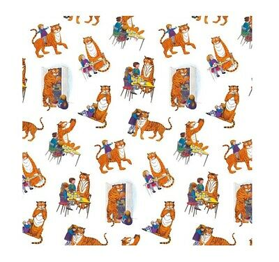 Sheet of The Tiger Who Came To Tea Gift Wrap Paper Museums and Galleries