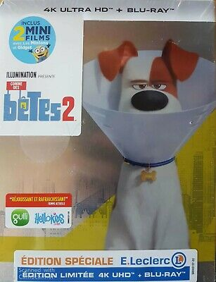 Comme Des Betes 2 Steelbook 4K Ultra Hd   Blu Ray  Neuf Sous Cellophane