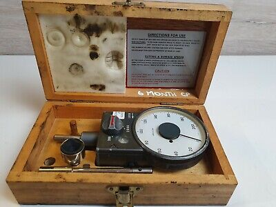 Vintage Smiths Venture ATH7 Tachometer With Case and Accessories