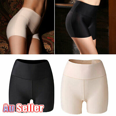 Women Underwear Shorts Anti Chafing Elastic Safety High Waist Short Pants Sexy