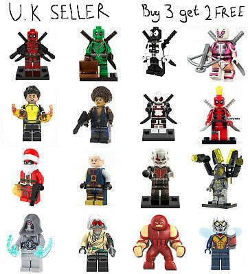 █ Buy 2 Get 1 Free █ Wasp Ant-Man Custom Mini Figure Minifigs Blocks X0263 1311