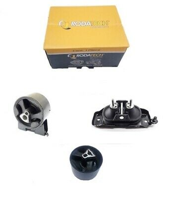 Front + Right + Rear Engine Mount Kit - Chrysler Grand Voyager Rt 2.8Crd 08-15
