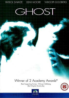 [DISC ONLY] Ghost DVD Drama Patrick Swayze, Demi Moore, Whoopi Goldberg