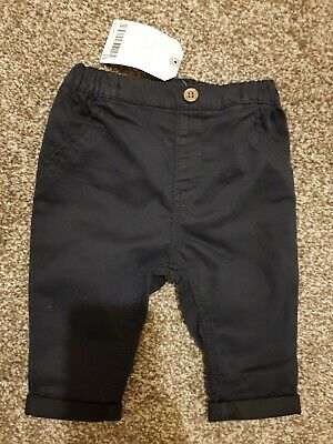 Next Baby Boys Chino Trousers 0-3 Months