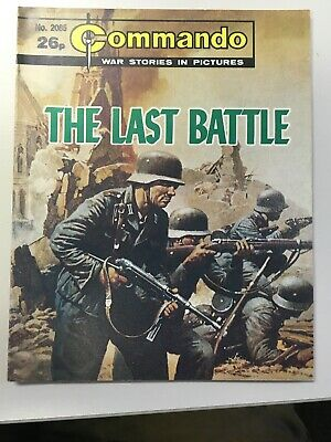 "Commando Comic # 2085 from 1987  ""The Last Battle""  Very Good Cond."